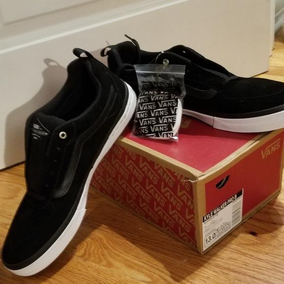 c3aa18b79318e Vans Shoes | Sz 13 Kyle Walker Pro B Black Nwb | Poshmark